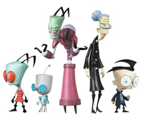 Invader Zim action figures