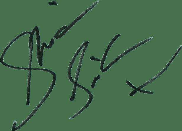 Sheridan Smith Signature