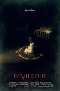 Poster for 2014 horror film Devil's Due