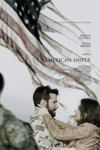 Poster for 2015 war movie American Sniper