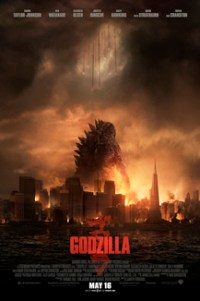 Poster for 2014 sci-fi monster movie Godzilla