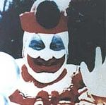 "Gacy as ""Pogo The Clown"""