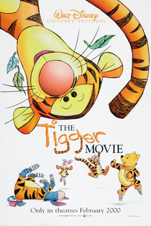 The Tigger Movie, a film based on the Disney a...