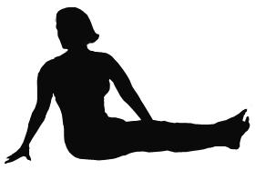 Cardiac yoga sample exercise