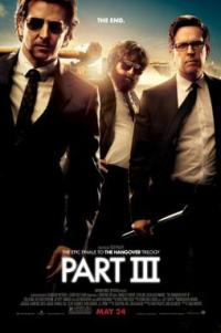 Poster for 2013 comedy film The Hangover Part III