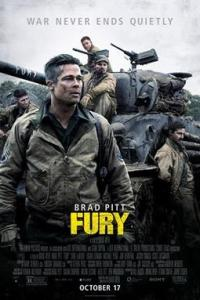 Poster for 2014 war movie Fury