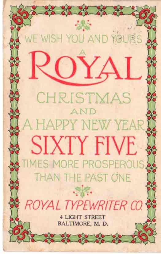 FileRoyal Typewriter Christmas Card 1909jpg Wikipedia