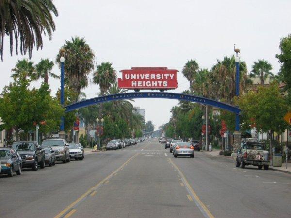 University Heights, San Diego - Wikipedia
