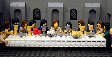 """The Last Supper"" from The Brick Tes..."