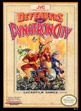 Defenders Of Dynatron City Wikipedia