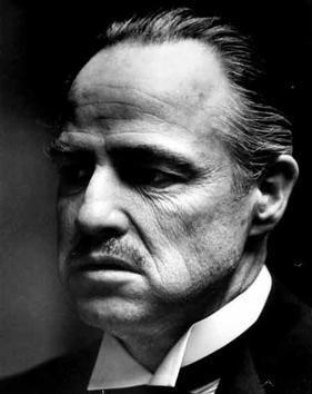 Brando as Don Vito Corleone in The Godfather (...