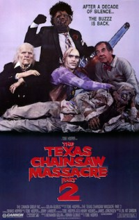 Image result for texas chainsaw massacre 2 poster
