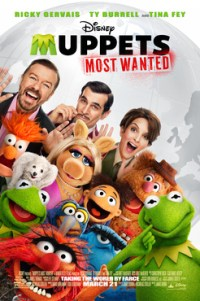 Poster for 2014 comedy Muppets Most Wanted