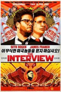 Poster for 2015 comedy film The Interview