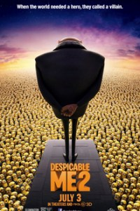 Poster for 2013 animated film Despicable Me 2