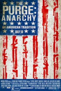 Poster for 2014 horror sequel The Purge: Anarchy
