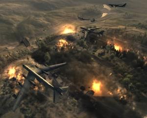 Carpet bombing tactical aid