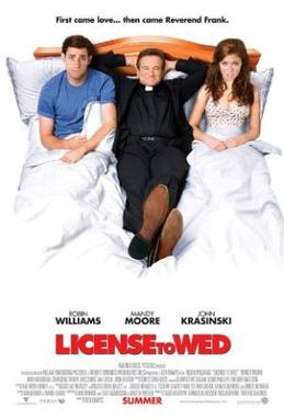 Licence to Wed poster