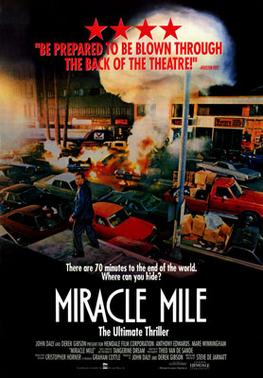 Miracle Mile dvd cover