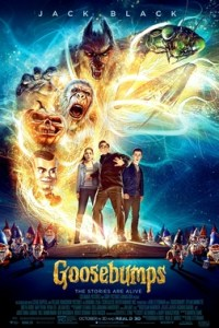 Poster for 2016 horror adventure Goosebumps