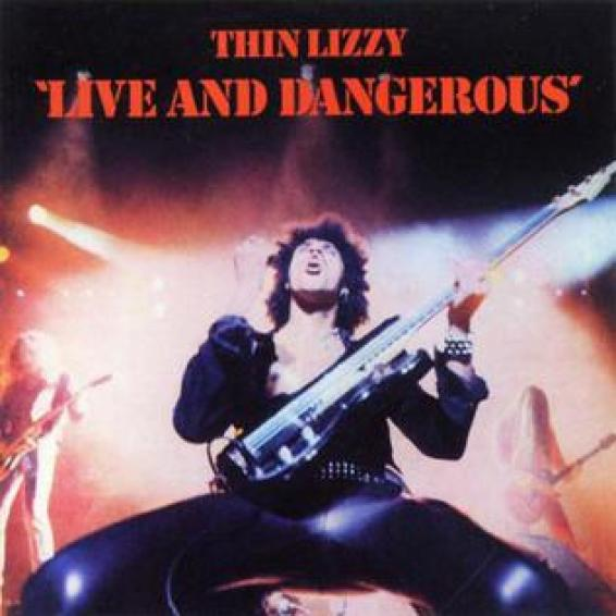 "Thin Lizzy ""Live And Dangerous"" Spotify"