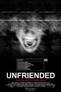 Poster for 2015 cyber-horror Unfriended