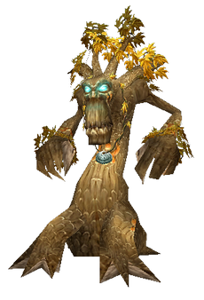 A treant from World of Warcraft