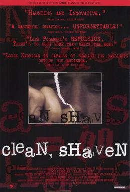 Poster do filme Clean, Shaven