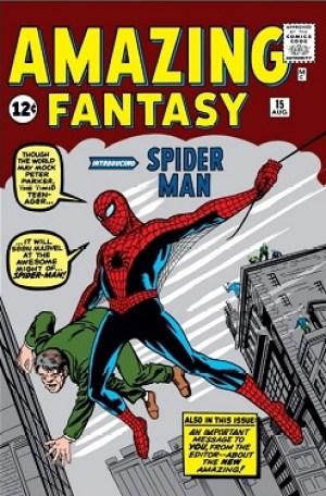 Spider-Man debuts: Amazing Fantasy #15 (Aug. 1...