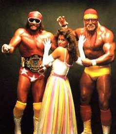The Mega Powers in 1988
