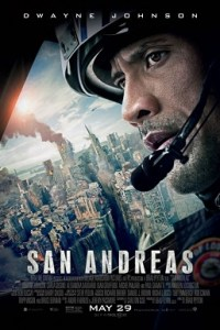 Poster for 2015 disaster movie San Andreas