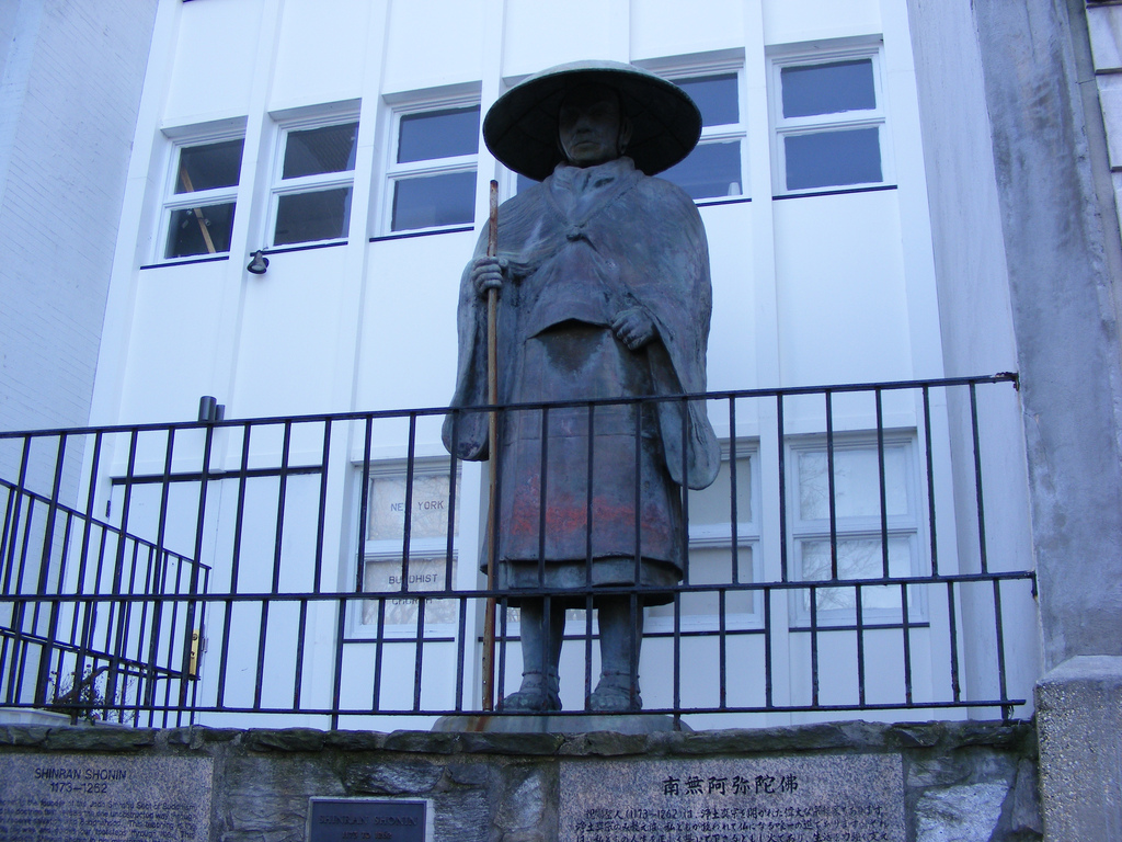 Shinran statue nyc New York Citys Best Secret Places To Visit