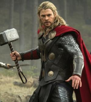 Chris Hemsworth as Thor as depicted in the upc...