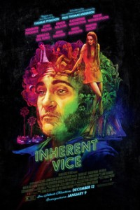 Poster for 2015 crime caper Inherent Vice