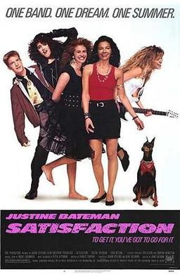 Film poster for Satisfaction (film) - Copyrigh...