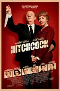 Poster for 2013 drama film Hitchcock