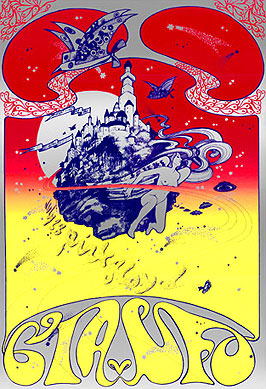 Poster for Pink Floyd at the UFO club, Jul...