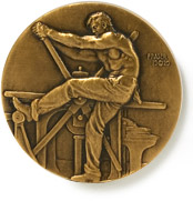 The AIGA medal was designed by James Earle Fra...