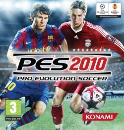 Sampul Game PES 2010 (Sumber: Wikipedia.org)