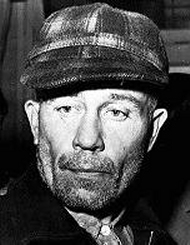 English: picture of ed gein