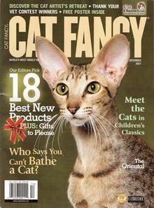 December 2007 cover of Cat Fancy