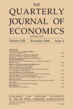 Quarterly Journal of Economics