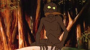 Gollum in Ralph Bakshi's animated version of T...