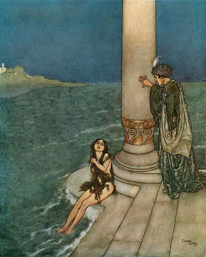 Image result for little mermaid hans christian andersen