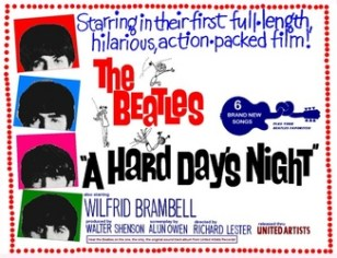 A Hard Day's Night poster