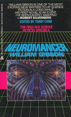 Cover of Gibsons Neuromancer