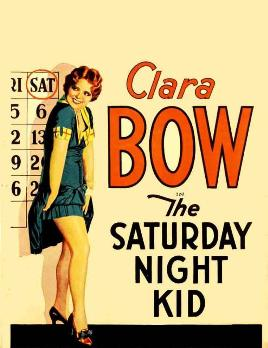 Clara Bow, a popular silent film star who made...
