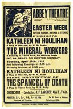 Kathleen Ni Houlihan Abbey Theatre, 1916