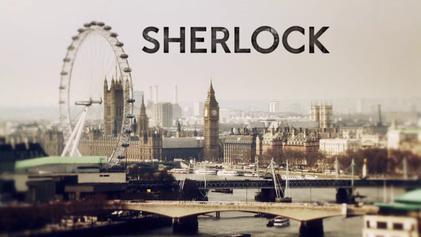 Sherlock title card
