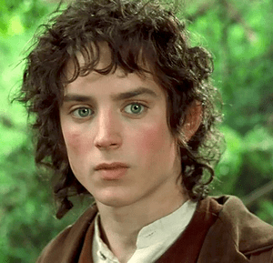 Elijah Wood as Frodo in Peter Jackson's live-a...